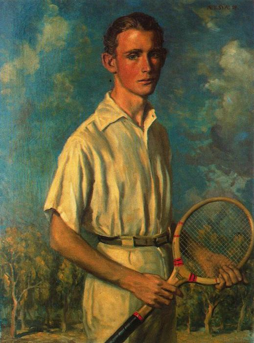 My son Jorge by Jorge Apperley (George Owen Wynne Apperley) (1884-1960, United Kingdom)