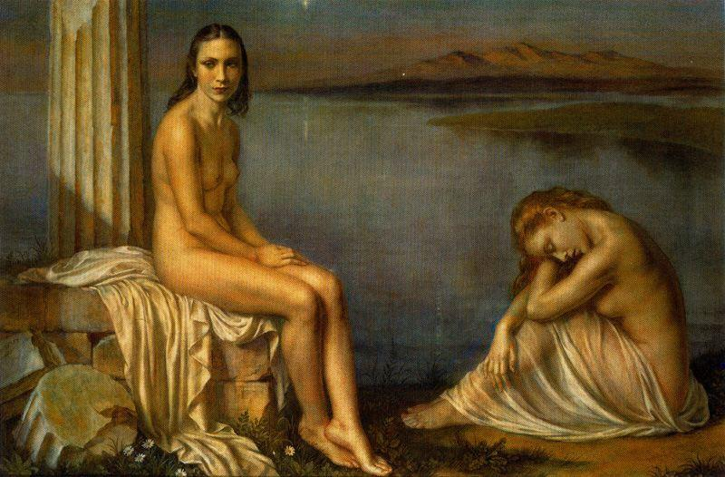 Serenidad by Jorge Apperley (George Owen Wynne Apperley) (1884-1960, United Kingdom) | Painting Copy | ArtsDot.com
