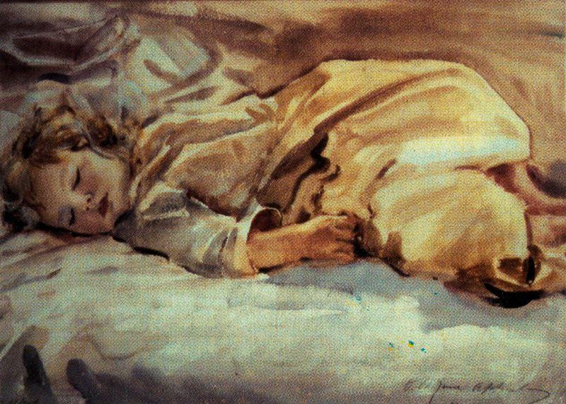 SleepingTeddy by Jorge Apperley (George Owen Wynne Apperley) (1884-1960, United Kingdom) | Museum Quality Reproductions | ArtsDot.com