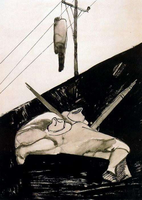 Hangman by Jose Clemente Orozco (1883-1949, Mexico) | Art Reproduction | ArtsDot.com