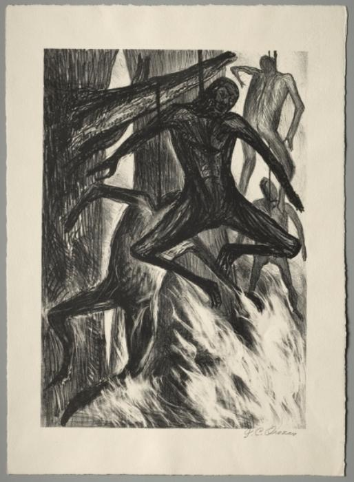 The Hanged Man by Jose Clemente Orozco (1883-1949, Mexico) |  | ArtsDot.com