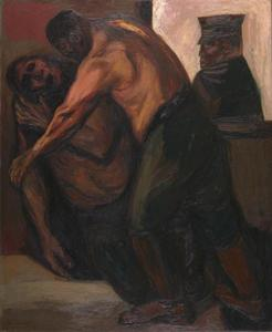 Jose Clemente Orozco - Wounded Soldier