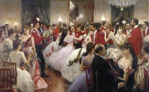 Julius Leblanc Stewart - A Hunt Ball