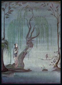 Kay Rasmus Nielsen - The Nightingale. At night..