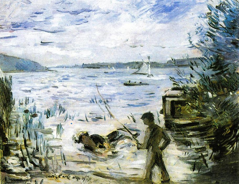 At the Muritzsee by Lovis Corinth (Franz Heinrich Louis) (1858-1925, Netherlands)