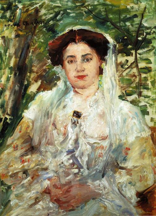 Paraphrase, Oil On Canvas by Lovis Corinth (Franz Heinrich Louis) (1858-1925, Netherlands)