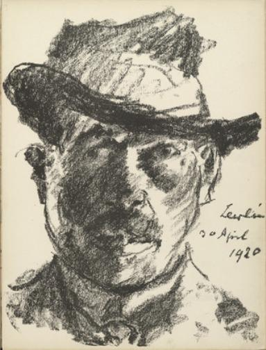 Self-Portrait 3 by Lovis Corinth (Franz Heinrich Louis) (1858-1925, Netherlands)