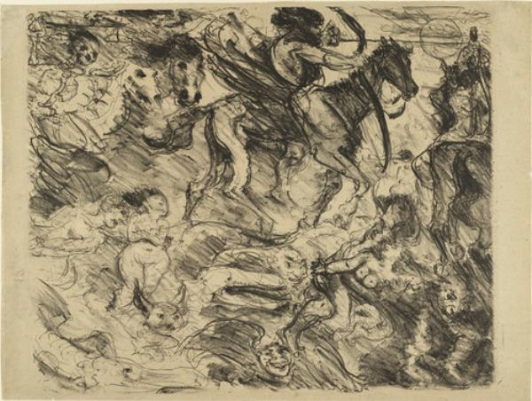 Untitled by Lovis Corinth (Franz Heinrich Louis) (1858-1925, Netherlands)