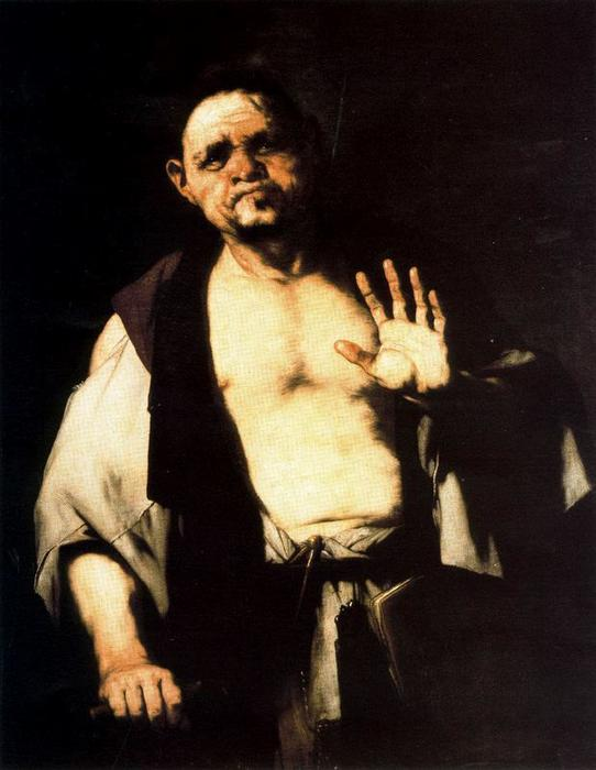 Cratete by Luca Giordano (1634-1705, Italy)