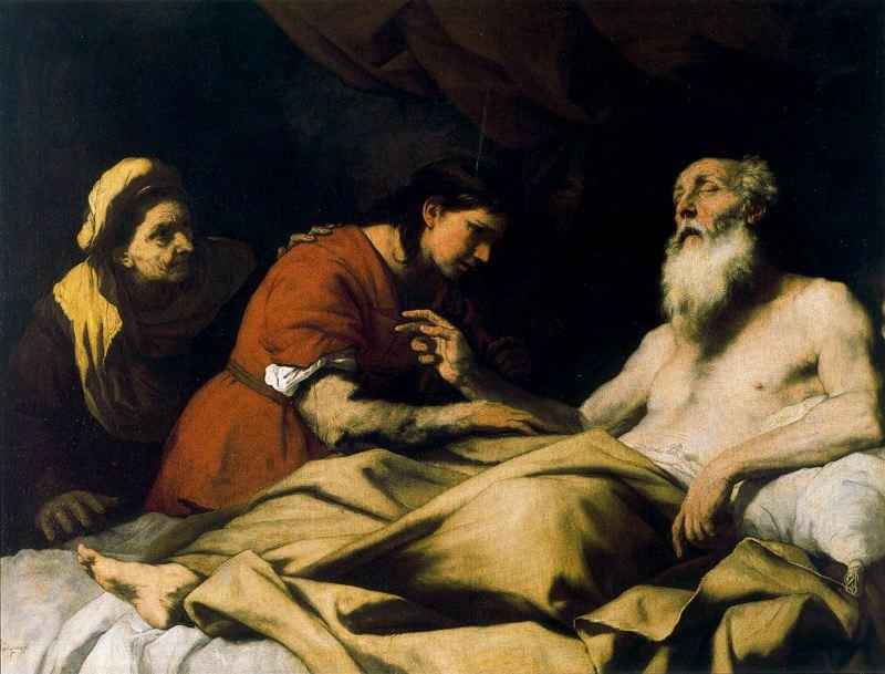 Isaac blesses Jacob 1 by Luca Giordano (1634-1705, Italy)