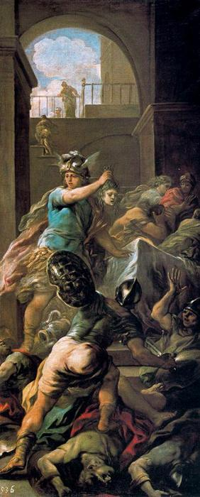 Perseus and the Medusa by Luca Giordano (1634-1705, Italy)