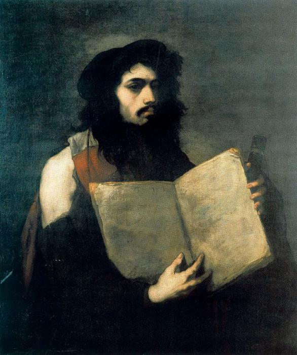 Self-Portrait as a Philosopher by Luca Giordano (1634-1705, Italy)