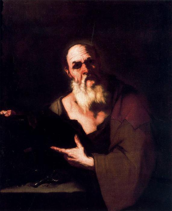 Socrate by Luca Giordano (1634-1705, Italy)