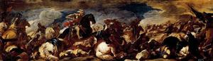 Luca Giordano - The Battle of San Quentin