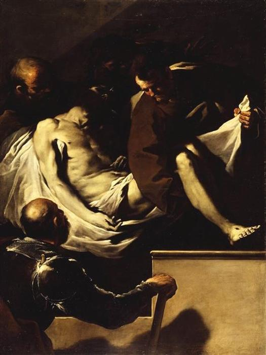 The Entombment of Christ by Luca Giordano (1634-1705, Italy)