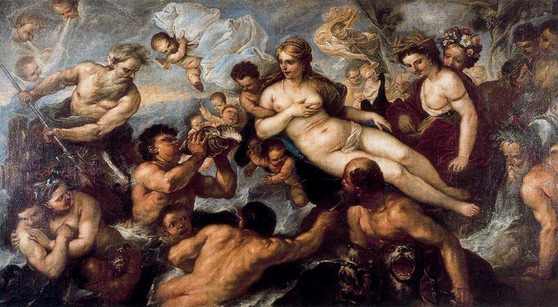 The Return of Persephone by Luca Giordano (1634-1705, Italy)