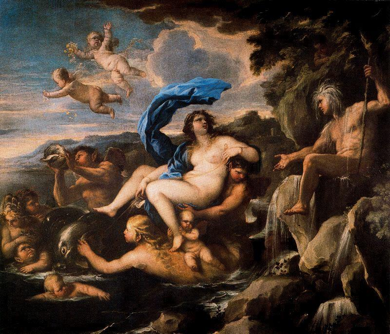 The Triumph of Galatea by Luca Giordano (1634-1705, Italy)