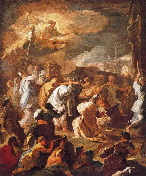 Transport Holy Ark by Luca Giordano (1634-1705, Italy)