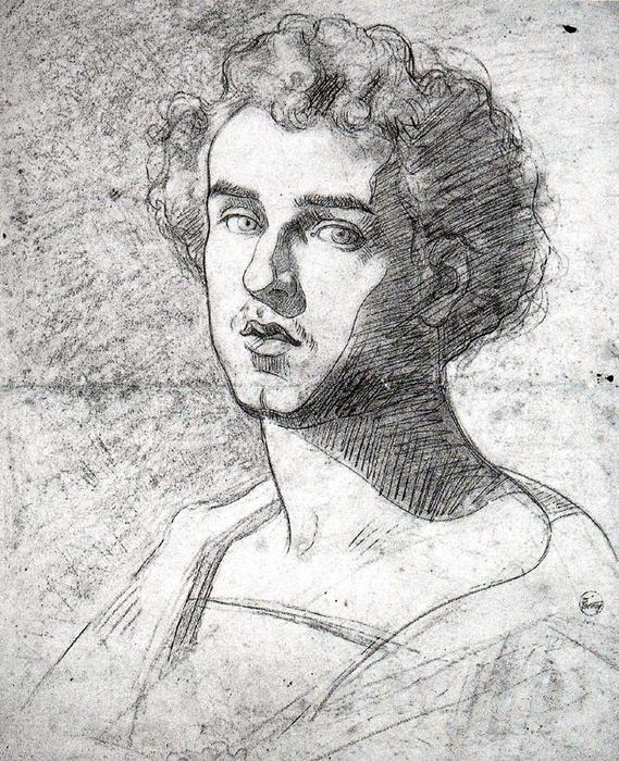 Self-portrait by Mariano Fortuny (1871-1949, Spain)