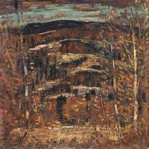Marsden Hartley - After Snow