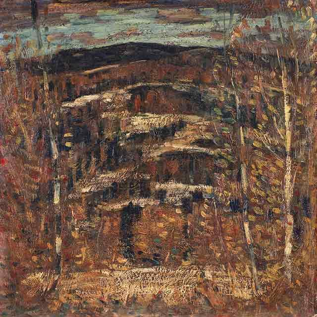 Order Reproductions | After Snow by Marsden Hartley (1877-1943, United States) | ArtsDot.com