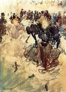 Maurice Brazil Prendergast - The Dancers