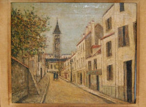 Maurice Utrillo - Church of Saint Jean Baptiste le Perreux on the Marne