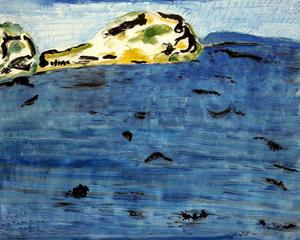 Milton Avery - Blue Bay and Dunes