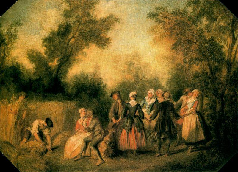 Buy Museum Art Reproductions : Verano by Nicolas Lancret (1690-1743, France) | ArtsDot.com