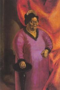 Otto Dix - Portrait of the Art Dealer Johanna Ey