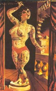 Otto Dix - Suleika, the Tatooed Wond..