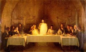 Pascal-Adolphe-Jean Dagnan-Bouveret - The Last Supper