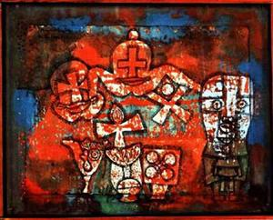 Paul Klee - Chinese porcelain