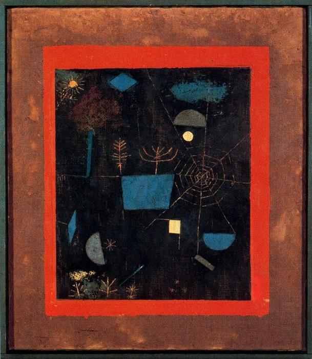 Cobweb by Paul Klee (1879-1940, Switzerland) | Museum Quality Reproductions | ArtsDot.com