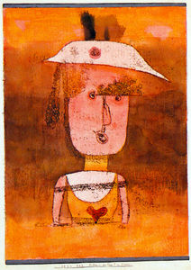 Paul Klee - Portrait of Mrs. P. in So..