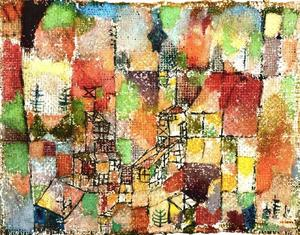Paul Klee - Two country houses