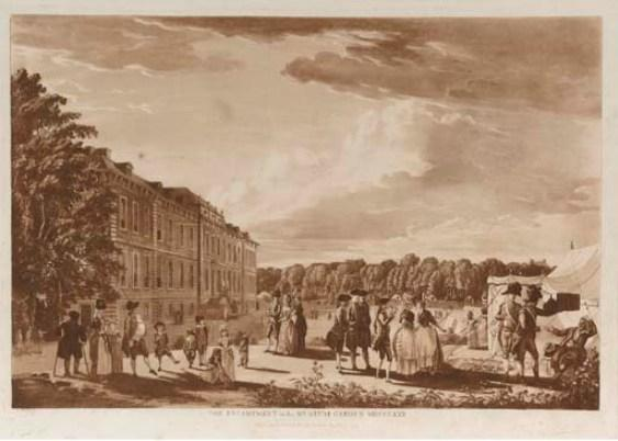 The Encampment in St James`s Park by Paul Sandby (1725-1809, United Kingdom) | Museum Quality Reproductions | ArtsDot.com