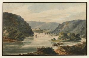 Pavel Petrovich Svinin - A View of the Potomac at ..