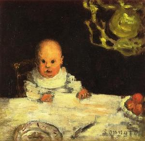 Pierre Bonnard - Child at Table