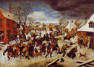 Pieter Bruegel The Younger - The Massacre of the Innocents