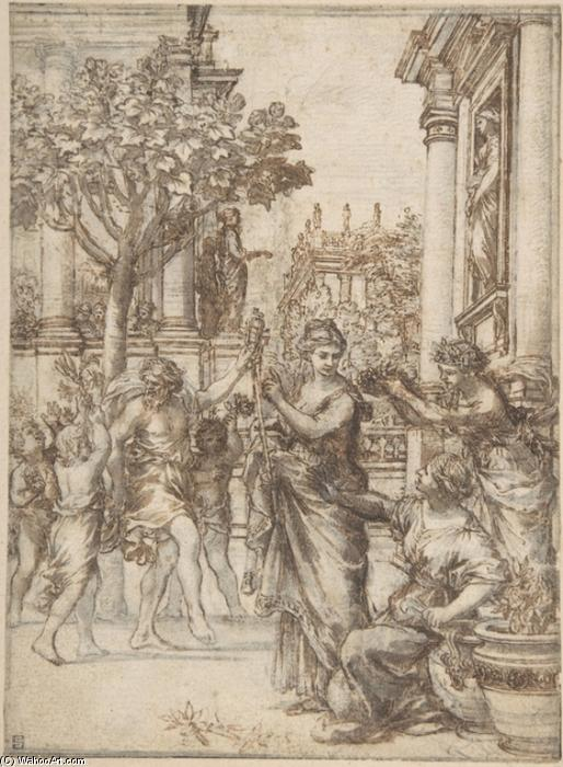 The Triumph of Nature Over Art by Pietro Da Cortona (1596-1669, Italy)
