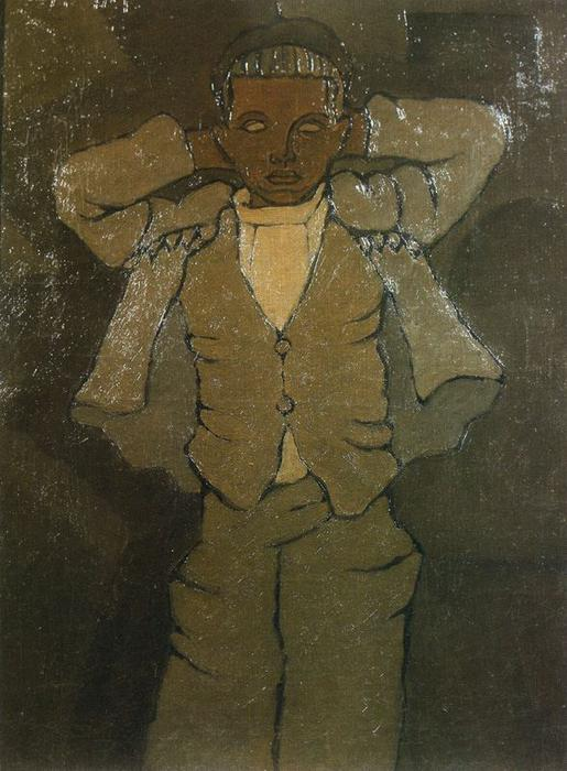 Calixto by Rafael Barradas (1890-1929, Uruguay) | Museum Art Reproductions | ArtsDot.com