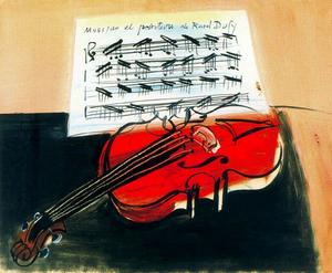 Raoul Dufy - The Red Violin