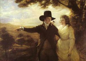 Henry Raeburn - Portrait of Sir John and Lady Clerk of Penicuik