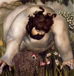 Stanley Spencer - Christ in the Wilderness. Cons..