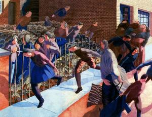 Stanley Spencer - Christ's entry into Jerusalem