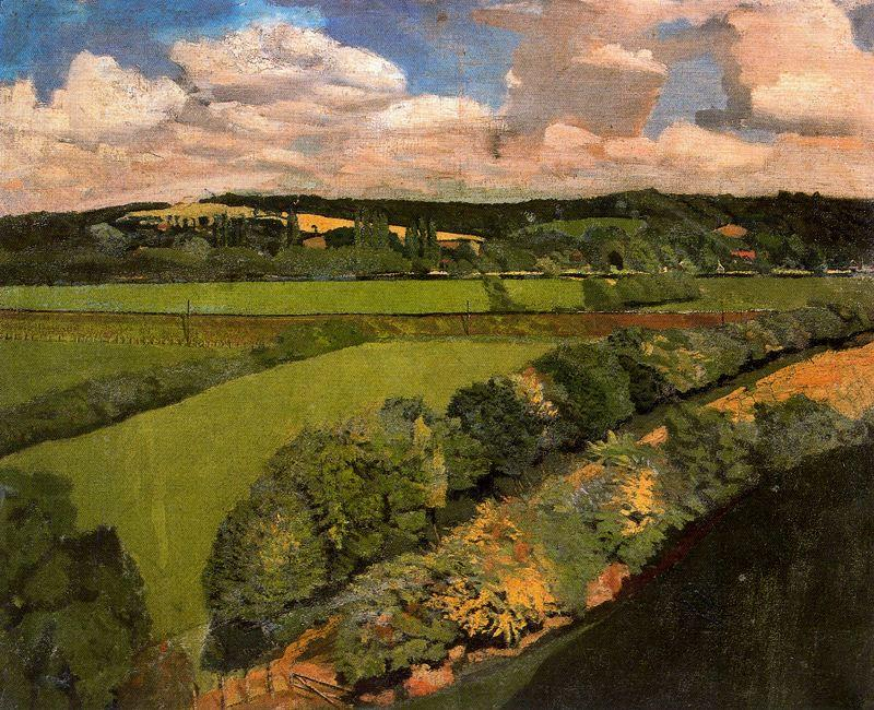 Cookham by Stanley Spencer (1891-1959, United Kingdom)