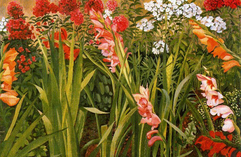 Garden Study by Stanley Spencer (1891-1959, United Kingdom)