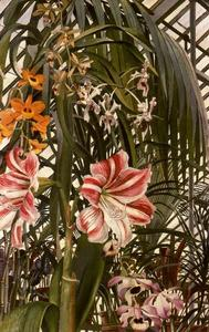 Stanley Spencer - Orchids, Lilies, Palms