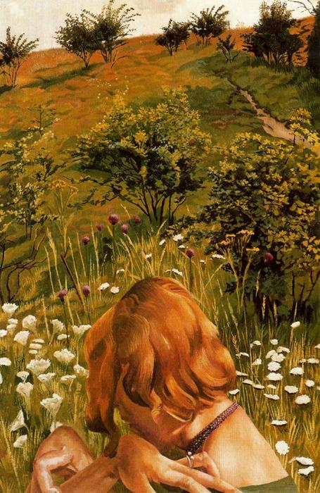 Patricia at Cockmarsh Hill by Stanley Spencer (1891-1959, United Kingdom)